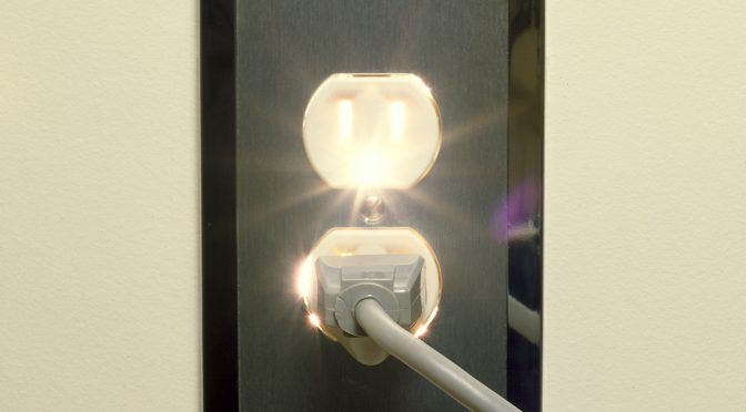 what to do when your outlet sparks